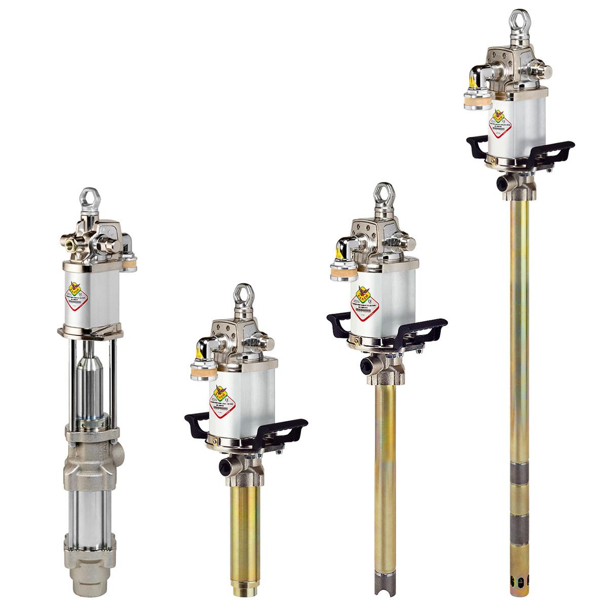 Klipne pumpe za mast i ulje sa dvostranim dejstvom