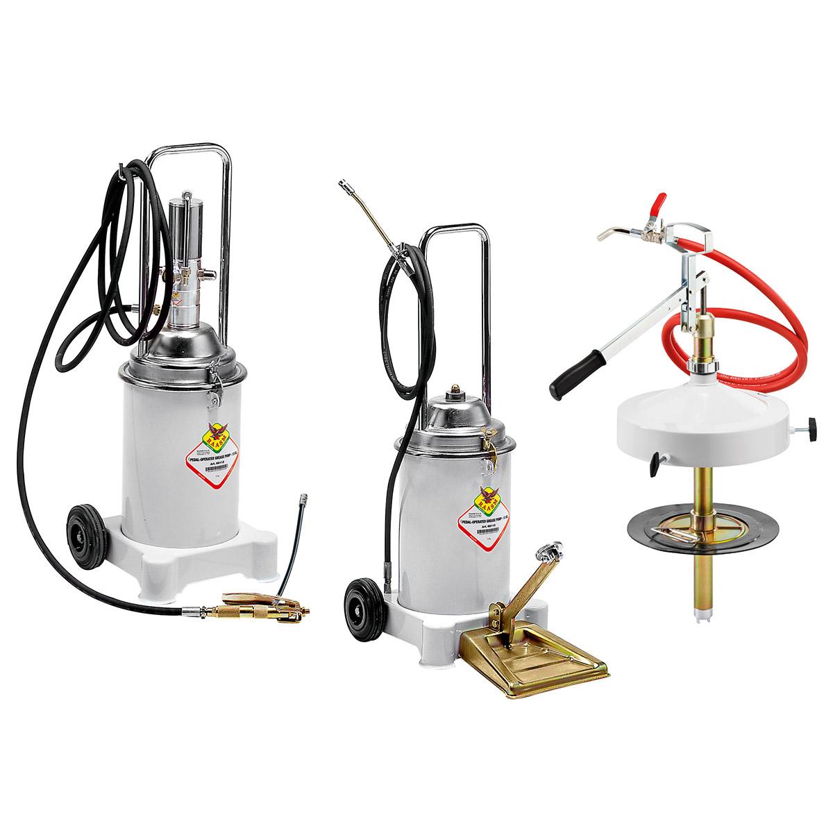 Mobilni rezervoari za mast 13 kg sa pumpom
