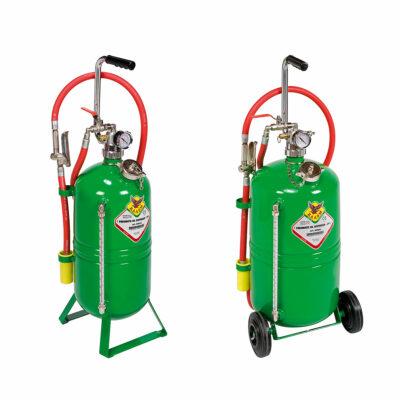 Mobilni pneumatski uredjaji za nalivanje ulja ili antifriza