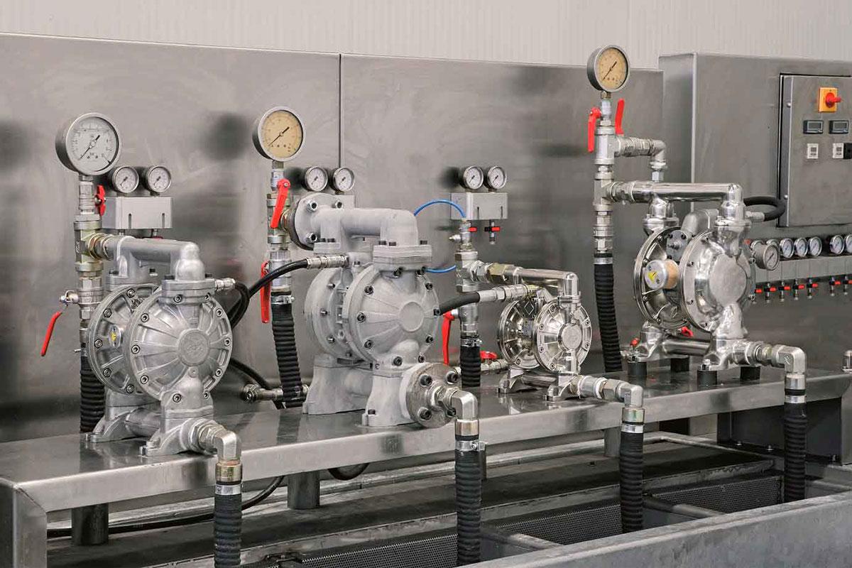 Membranske pumpe u pogonu