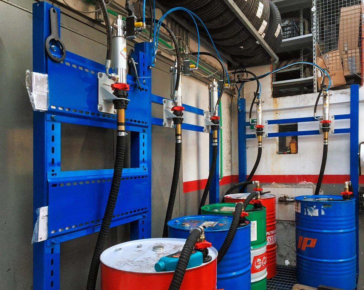 Centralno skladište za distribuciju fluida
