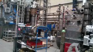 Vakuumska peć sa kalj. i u ulju sa visokim vakuumom u fazi proizvodnje